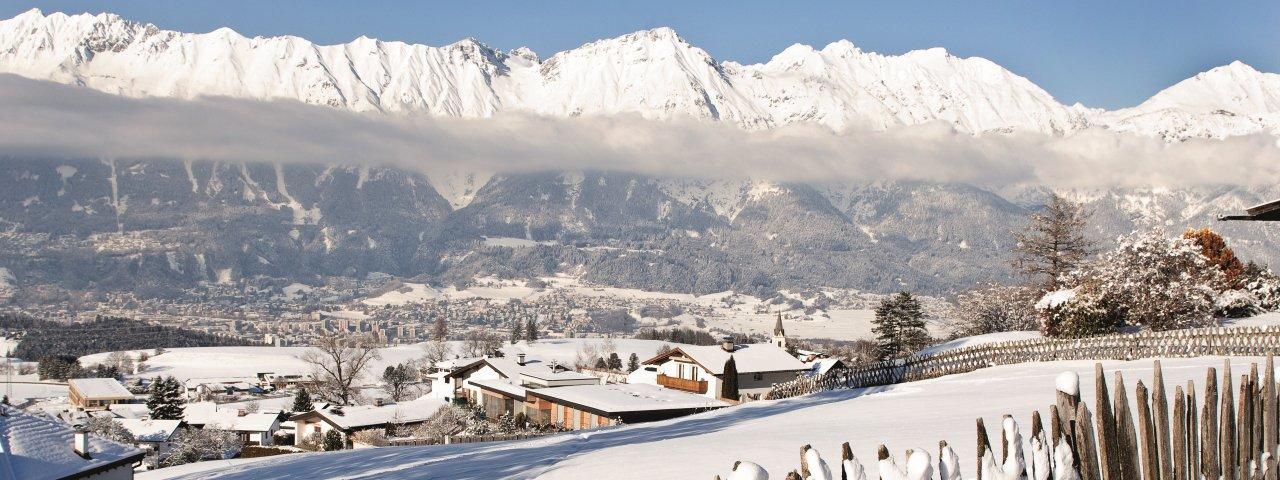 Sistrans in winter, © Innsbruck Tourismus/Irene Ascher
