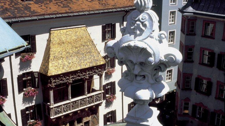 Goldenes Dachl (Golden Roof) in Innsbruck, © Stadtmagistrat Innsbruck