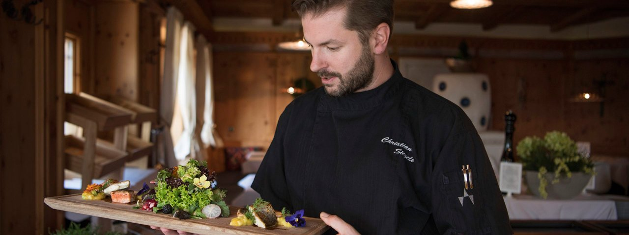 Head chef Christian Siegele, © Tirol Werbung/Frank Bauer