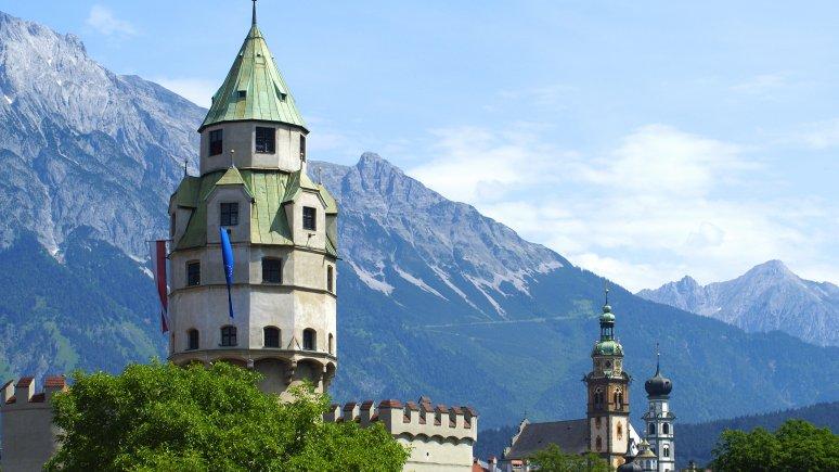 Münze Hall & Münzerturm (Hall Mint Museum & Mint Tower), © Region Hall-Wattens