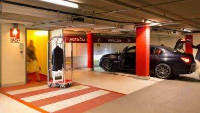 Tiefgarage mit hotelzugewiesenen Parkplätzen, © ©Hotel Stadt Kufstein