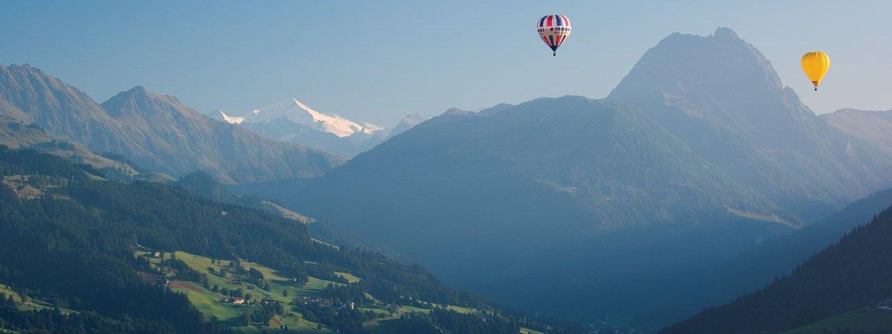 Hot air ballooning in Tirol, © Albin Niederstrasser