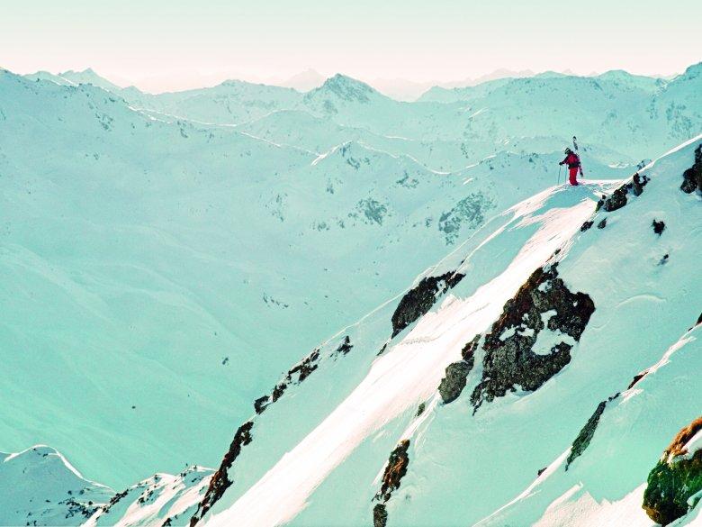 Freeride Hotspot Hochfügen (CR Bergbahnen Hochfügen)