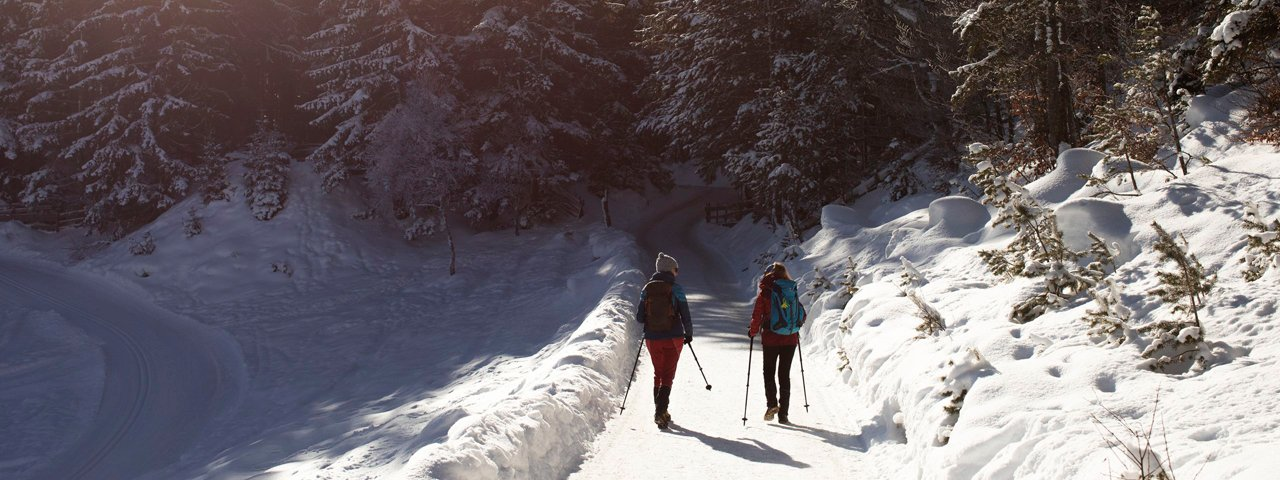 Long-distance hiking in winter, © Tirol Werbung / Frank Stolle