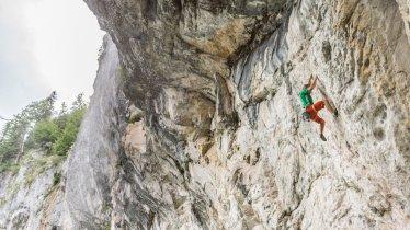 Rock climbing in the Wilder Kaiser Mountains, © Tourismusverband Wilder Kaiser