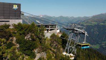Ahornbahn cable car in Mayrhofen, © Mayrhofner Bergbahnen