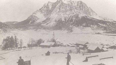 Anfangszeit Schifahren im Lermoos
