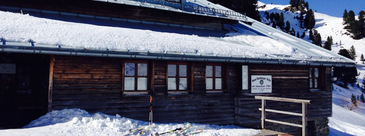 Bambergerhütte, © Esther Wilhelm