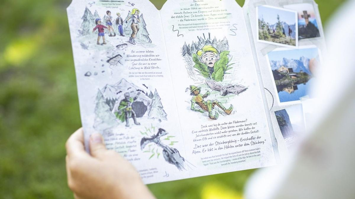"""The interactive family adventure """"The Secret of the King of Steinberg"""" lead you right across the PillerseeTal, in order to find the necessary command words, which will help you to defeat the King of Steinberg., © TVB PillerseeTal"""