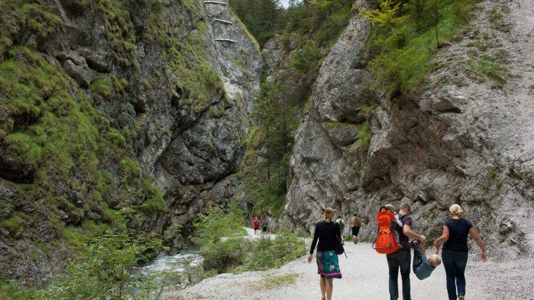 Kundler Gorge between Wörgl and Wildschönau, © Tirol Werbung/Alexander Ziegler