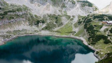 The Drachensee lake near the Coburger Hütte., © Tirol Werbung / Hans Herbig