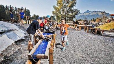Spielplatz-Wasserspiele