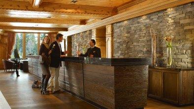 Check-In im Interalpen-Hotel Tyrol, © Interalpen-Hotel Tyrol