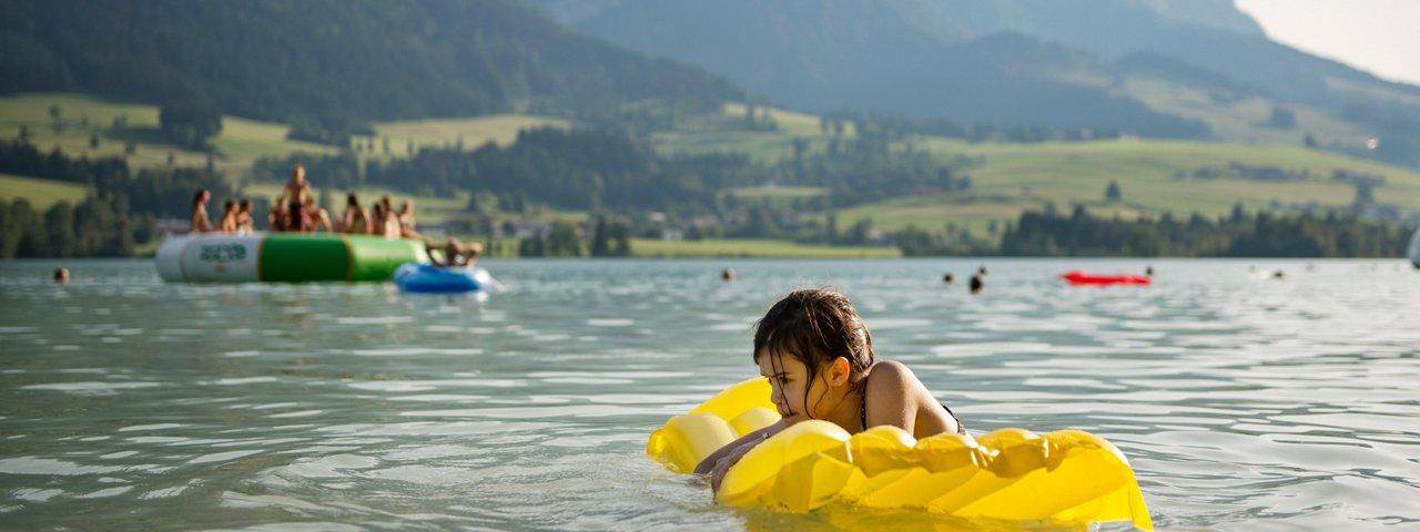 Lake Walchsee, © Tirol Werbung/Frank Bauer