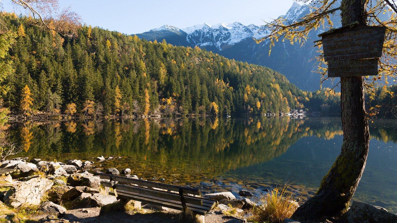 Lake Piburger in Oetz, © Tirol Werbung / Mario Webhofer