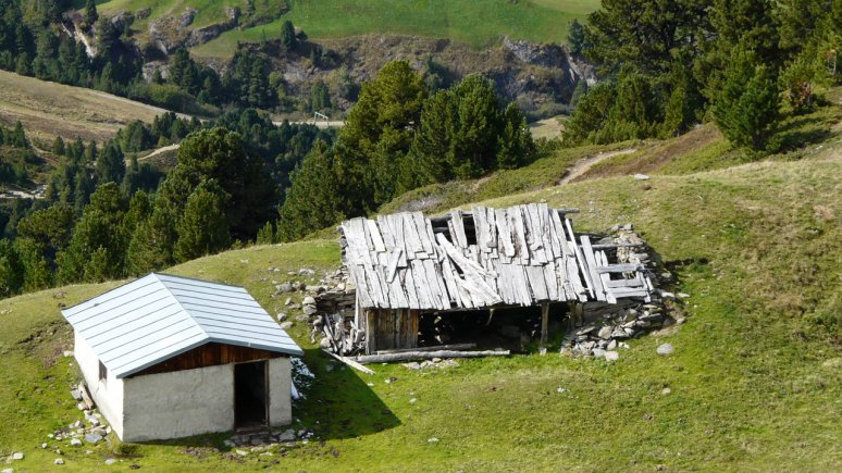 Ramolalm at Vent in Ötztal Nature Park, © Naturpark Ötztal