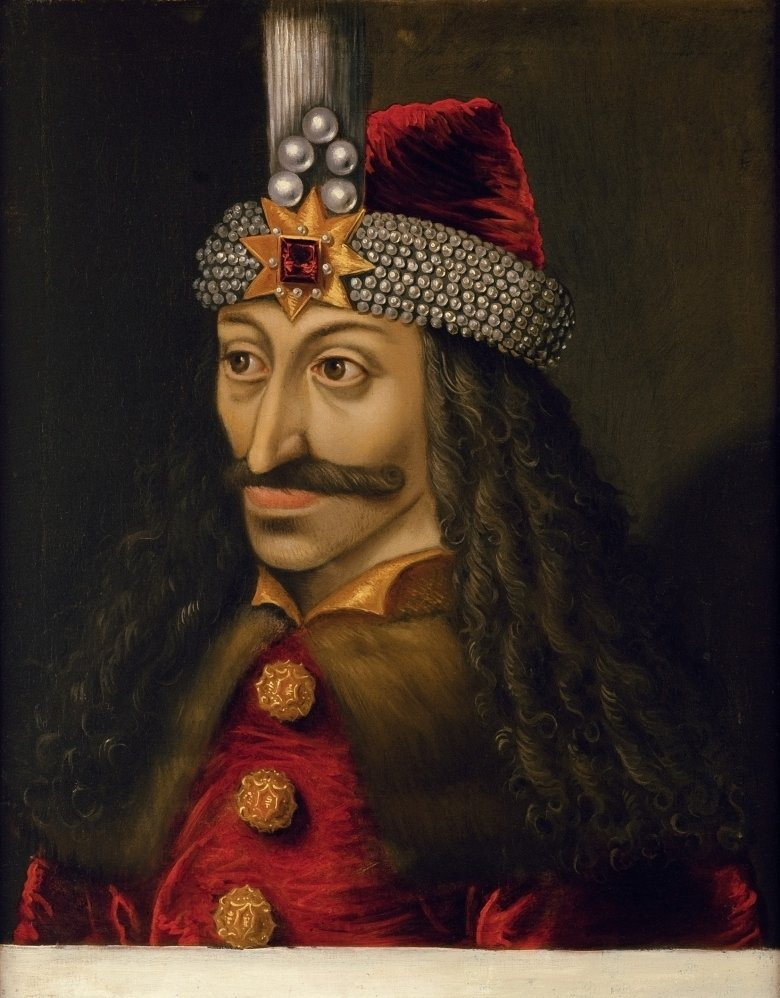 """Vlad III. Tepes (""""Vlad the Impaler""""), 1430-1477. The portrait can be found at Ambras Castle in Innsbruck. (Photo: KHM Museumsverband), © KHM Museumsverband"""