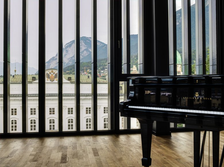 Innsbruck's newest cultural asset is a multi-use facility that offers superb spaces for artists.