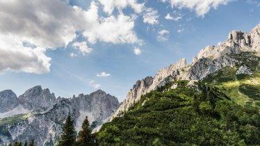 Hiking in the Wilder Kaiser Mountains, © Felbert Reiter