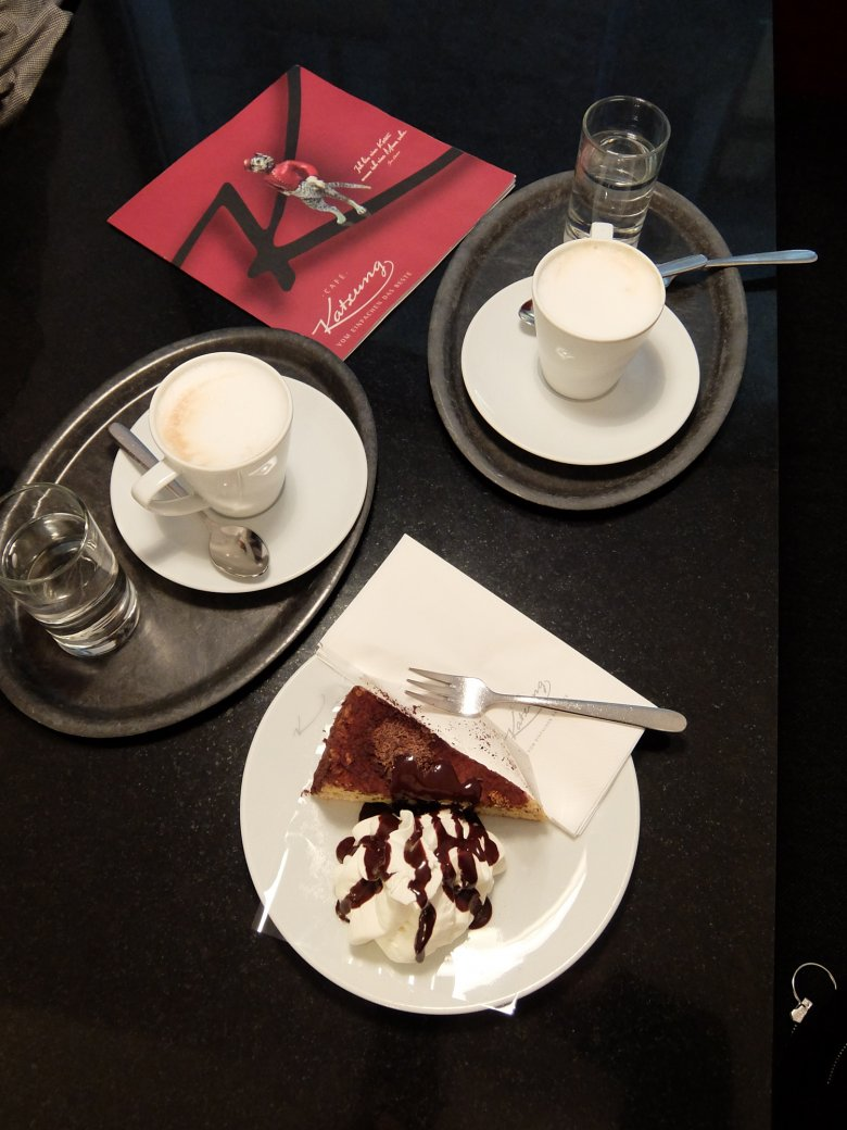 The Katzung Torte (is smaller than it appears)