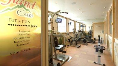 Fitnessraum, © Hotel Bergland