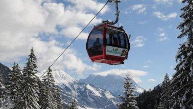 Skigebiet in 5 Gehminuten erreichbar
