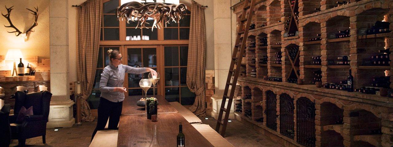 The highest wine cellar in the Alps, © Tirol Werbung/Frank Bauer