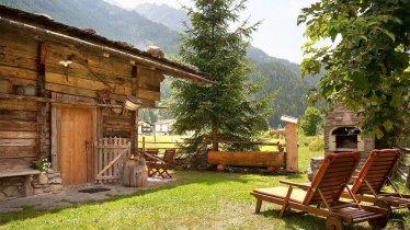 Bruggerhof Mayrhofen - Terrasse