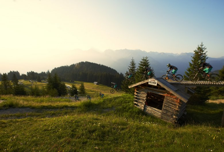 Stefan Falkeis at Serfaus-Fiss-Ladis Bike Park, Photo Credit: Christian Waldegger