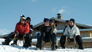 The Bärenfalle hut is the ideal place for a traditional snack before whizzing back down into the valley., © Bergeralm