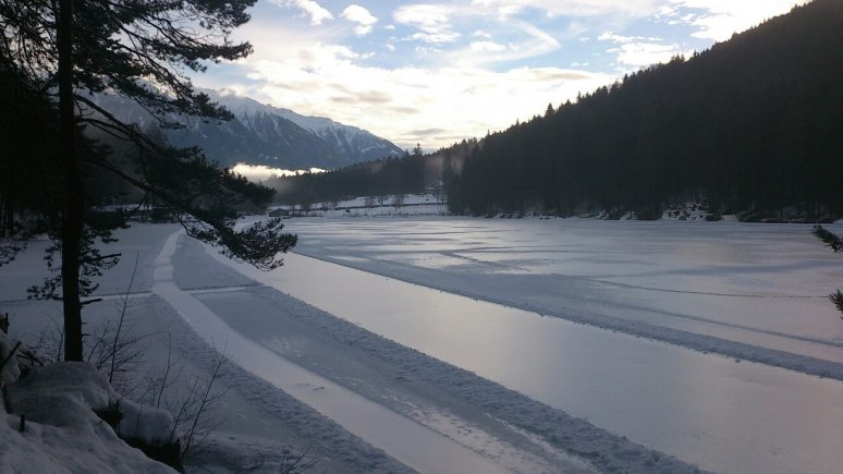 Tristacher See lake