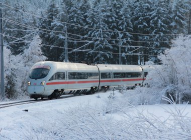 Getting to Tirol by train (c) OEBB