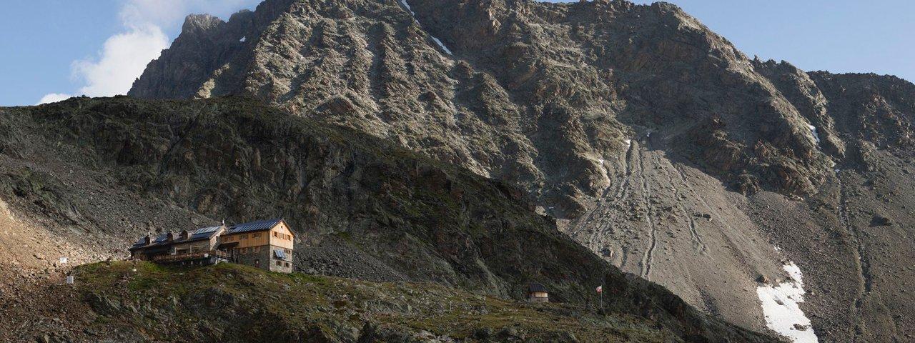 The Kaunergrathütte hut, © ©Tirol Werbung / Heinzlmeier Bert