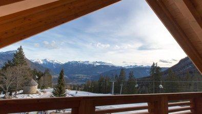 Ausblick von unserer Suite im Dachgeschoss