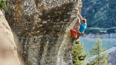 The Gailwand climbing area in the Kaunertal Valley, © Kaunertal Toursismus