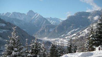 Panroamablick im Winter