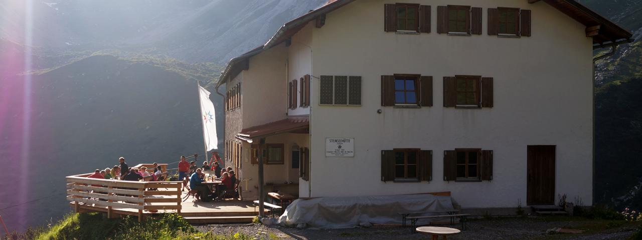 Steinseehütte, © Steinseehütte
