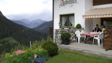 Terrasse, © Haus Antonius