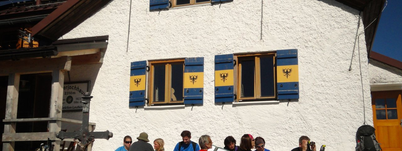 Kaiserjochhaus, © Tirol Werbung/Ines Mayerl