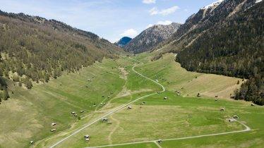 Wooden huts in the Pfundser Tschey valley, © Tirol Werbung/Mario Webhofer