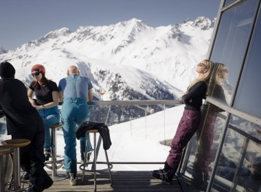 Spring skiing in St. Anton am Arlberg