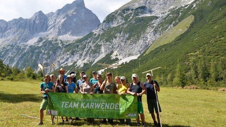 Team Karwendel, © Naturpark Karwendel