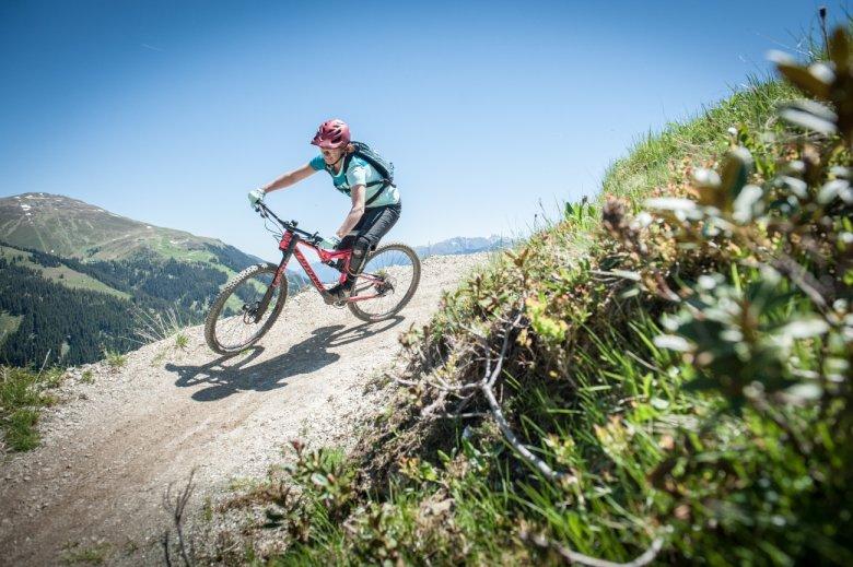 mountainbike singletrails tirol)
