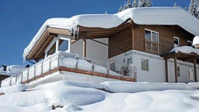 Ansicht Haus Winter Appartements Wanner