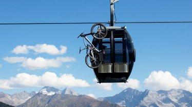 Bergeralmbahn cable car in Steinach am Brenner, © Tirol Werbung/Maria Ziegelböck