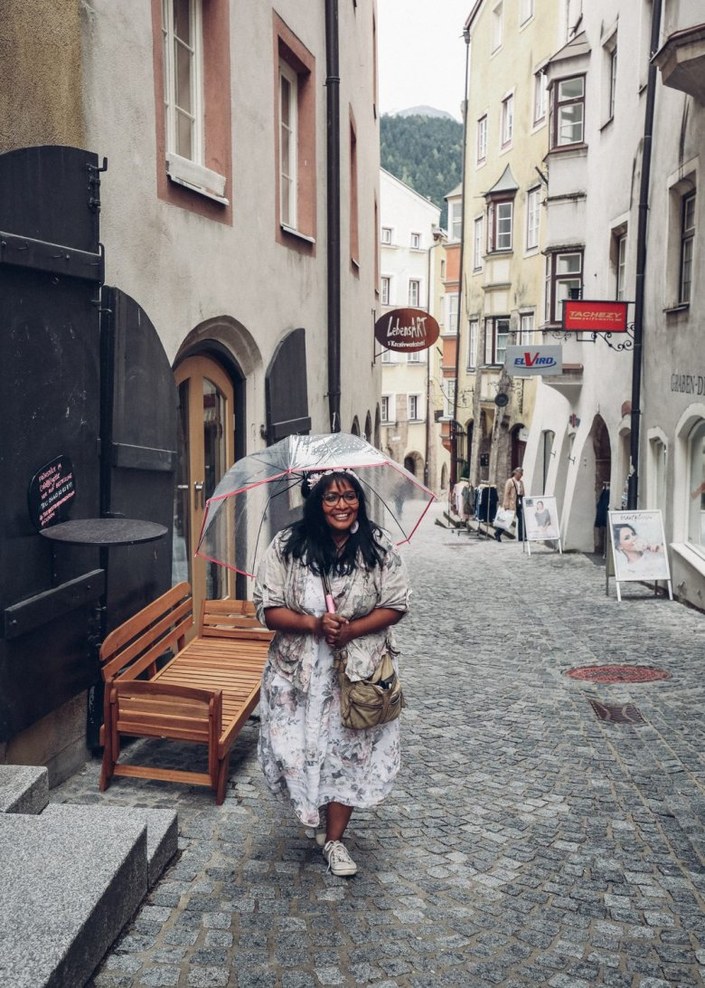 Lizette moved from the South African megacity Cape Town to the small town of Hall in Tirol.