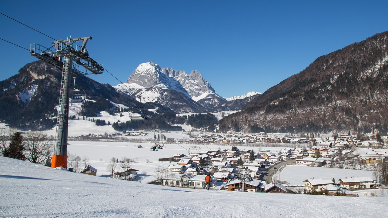Kirchdorf in Tirol in winter, © Franz Gerdl