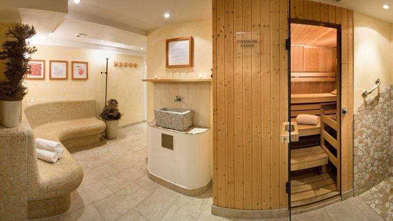 Sauna at the Biohotel Schweitzer in Mieming, © Biohotel Schweitzer