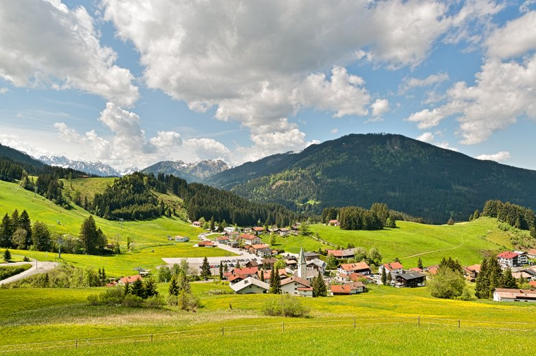 A piece of Tirol in Bavaria, the enclave Jungholz. (Photo: Tourismusverband Tannheimer Tal/Achim Meurer), © Tourismusverband Tannheimer Tal/Achim Meurer
