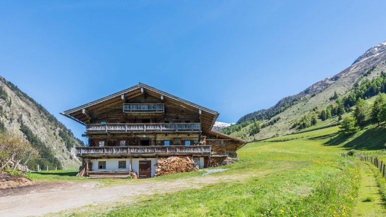 Farmhouse in the Tauern Valley, © Almliesl